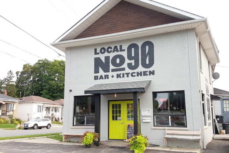 The storefront of Local No90. Photo by Stenoodie