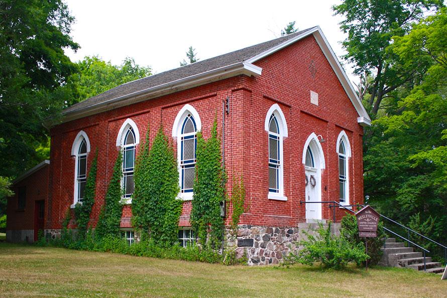 Exterior of Wesleyville Church