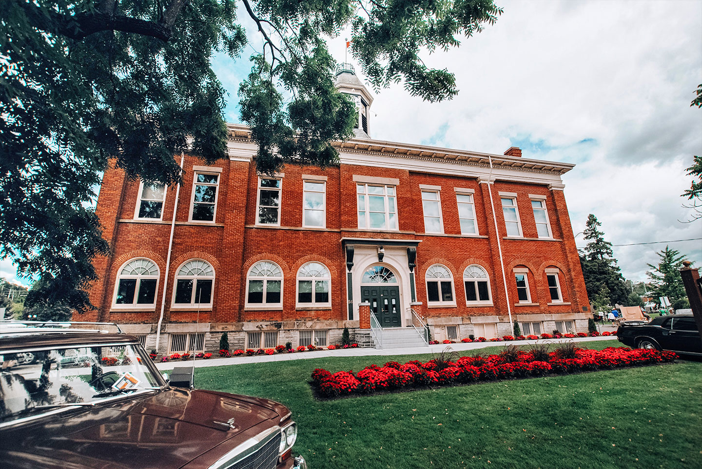 Port Hope historic Town Hall also doubled as the Derry Maine library